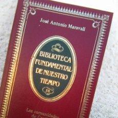 Libros de segunda mano: MARAVALL, JOSE ANTONIO - LAS COMUNIDADES DE CASTILLA (ALIANZA, 1984). Lote 107919403