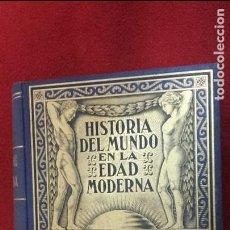 Libros de segunda mano: HISTORIA DEL MUNDO EN LA EDAD MODERNA - TOMO II LA REFORMA - ED. RAMON SOPENA - CARTONE. Lote 109439211