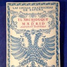 Libros de segunda mano: ESPAÑA, LAS LUCHAS FRATRICIDAS. 4 TOMOS. Lote 110003382