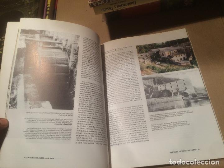 Libros de segunda mano: Antiguo libro LA PRIMERA REVOLUCIÓ INDUSTRIAL A CATALUNYA editorial NADALA año 1997 - Foto 3 - 110054427