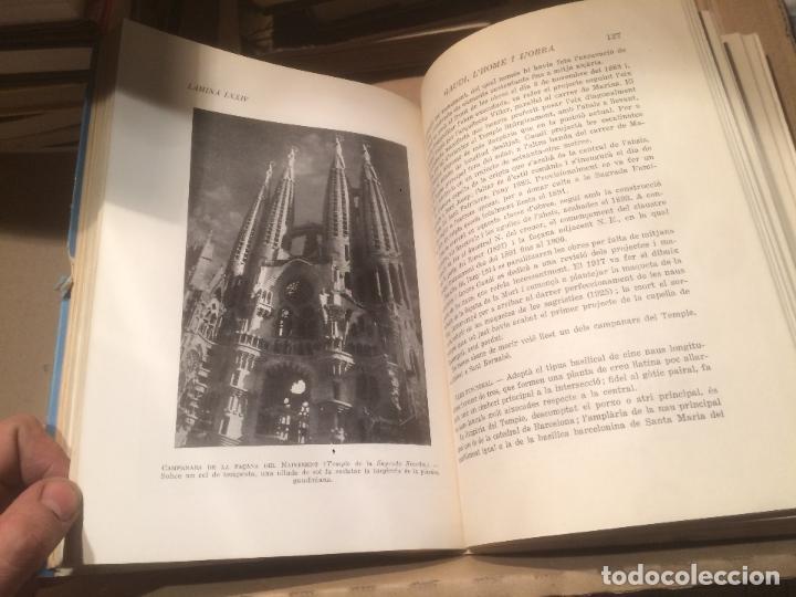 Libros de segunda mano: Antiguo libro Antoni Gaudí l'home i l'obra escrito por Joan Bergós año 1957 - Foto 2 - 110073883