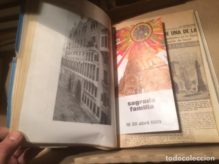 Libros de segunda mano: Antiguo libro Antoni Gaudí l'home i l'obra escrito por Joan Bergós año 1957 - Foto 4 - 110073883