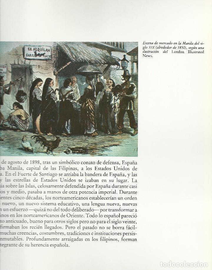 Libros de segunda mano: FILIPINAS. LA HERENCIA ESPAÑOLA, Carlos Quirino - Foto 3 - 110423431