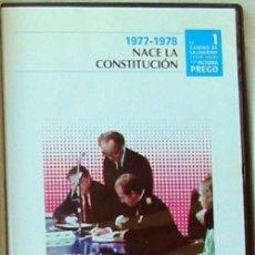 Libros de segunda mano: DVD 1977-1978 NACE LA CONSTITUCIÓN - EL CAMINO DE LA LIBERTAD 1978- 2008 - VICTORIA PREGO. Lote 110567871