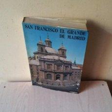 Libros de segunda mano: PATROCINIO GARCIA BARRIUSO - SAN FRANCISCO EL GRANDE DE MADRID - MADRID 1975. Lote 110729667