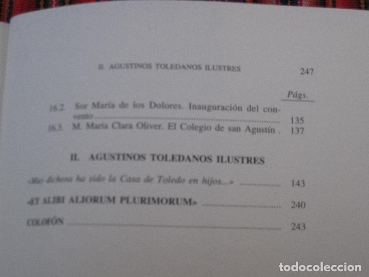 Libros de segunda mano: AGUSTINOS EN TOLEDO. - Foto 4 - 112009915