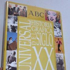 Libros de segunda mano: HISTÓRIA GRÁFICA DEL SIGLO XX UNIVERSAL ABC ARGENTARIA (ÁLBUM VACÍO). Lote 42562951