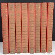 Libros de segunda mano: BARCELONA DIVULGACIÓN HISTÓRICA. 8 TOMOS. EDIT AYMA. 1941/1949.. Lote 112988847