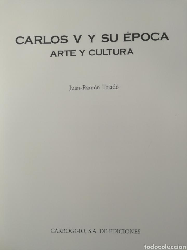 Libros de segunda mano: CARLOS V Y SU ÉPOCA - ARTE Y CULTURA - JUAN RAMON TRIADÓ - Foto 5 - 113411304