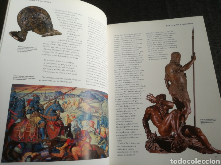 Libros de segunda mano: CARLOS V Y SU ÉPOCA - ARTE Y CULTURA - JUAN RAMON TRIADÓ - Foto 7 - 113411304