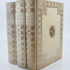 Libros de segunda mano: MEMORIAS SOBRE LA MARINA, COMERCIO Y ARTES DE LA ANTIGUA CIUDAD DE BARCELONA, 1961, CAPMANY, 3.VOL. Lote 113470875