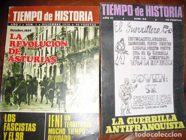 Libros de segunda mano: TIEMPO DE HISTORIA. 60 NUMEROS,VER DETALLE. - Foto 2 - 113520467
