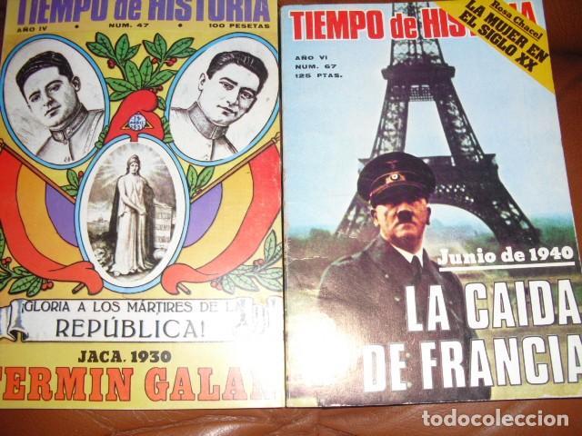 Libros de segunda mano: TIEMPO DE HISTORIA. 60 NUMEROS,VER DETALLE. - Foto 3 - 113520467