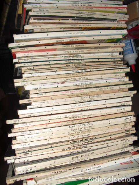 Libros de segunda mano: TIEMPO DE HISTORIA. 60 NUMEROS,VER DETALLE. - Foto 5 - 113520467