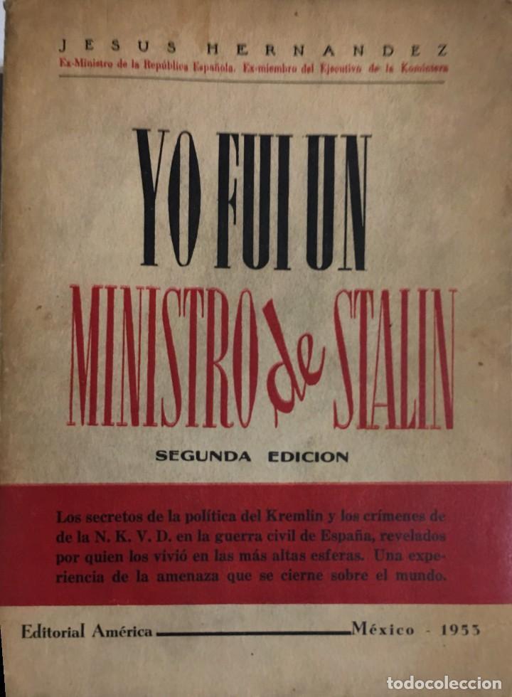 Resultado de imagen de YO FUI MINISTRO DE STALIN