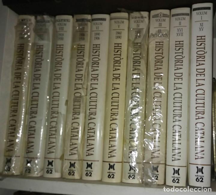 HISTORIA DE LA CULTURA CATALANA. 10 TOMOS ESTADO IMPECABLE (Libros de Segunda Mano - Historia Moderna)