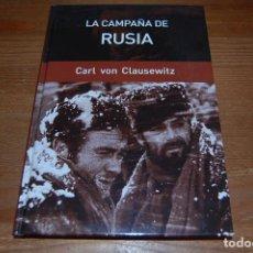 Libros de segunda mano: LA CAMPAÑA DE RUSIA. CARL VON CLAUSEWITZ. Lote 114311455