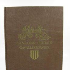Libros de segunda mano: ROMANCER POPULAR DE LA TERRA CATALANA, MARIAN AGUILÓ, JOAN G. JUNCEDA, 1947, BARCELONA. 27X34CM. Lote 114329187