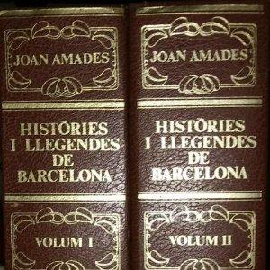 Històries i llegendes de barcelona, passejada pels carrers de ciutat vella. JOAN AMADES