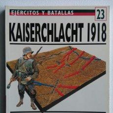 Libros de segunda mano: KAISERCHLACHT 1918. Lote 114746240