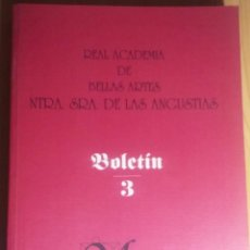 Libros de segunda mano: REAL ACADEMIA BELLAS ARTES DE GRANADA. Lote 114772279