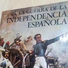 Libros de segunda mano: LA GUERRA DE INDEPENDENCIA ESPAÑOLA, DE RAMÓN SOLÍS. Lote 133642567