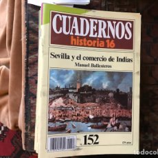Libros de segunda mano: SEVILLA Y EL COMERCIO DE INDIAS. Lote 115288140