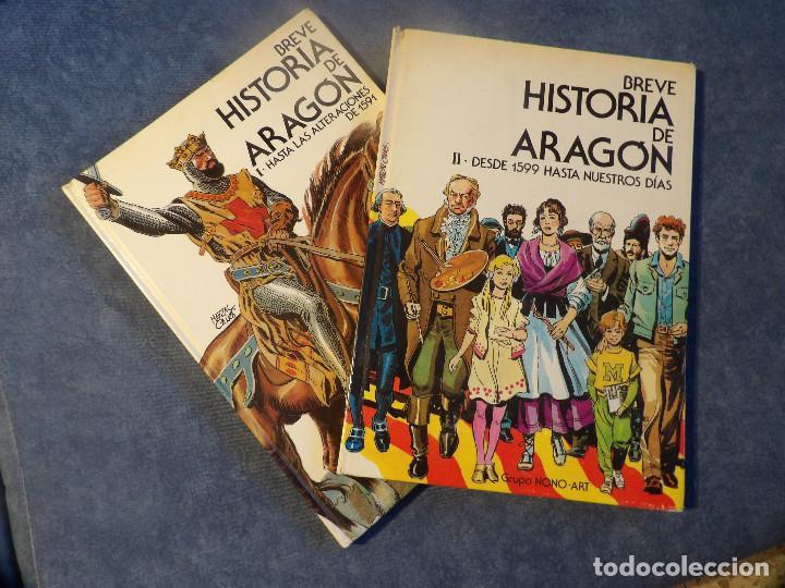 BREVE HISTORIA DE ARAGÓN (Libros de Segunda Mano - Historia Moderna)
