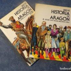 Libros de segunda mano: BREVE HISTORIA DE ARAGÓN. Lote 116121295