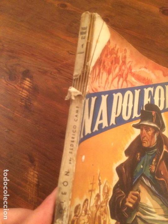 Libros de segunda mano: Antiguo libro Vidas Heroicas. Napoleón Editor J. Esteve año 1942 - Foto 2 - 116284851