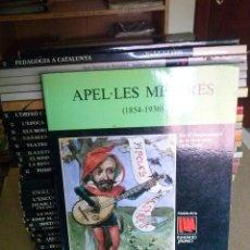 Libros de segunda mano: LOTE DE 34 NADALAS -DE LA FUNDACION JAUME 1E,HISTORIA CATALUNYA- FALTA DE 4 NºS -VER FOTOS Y TITULOS. Lote 116340263
