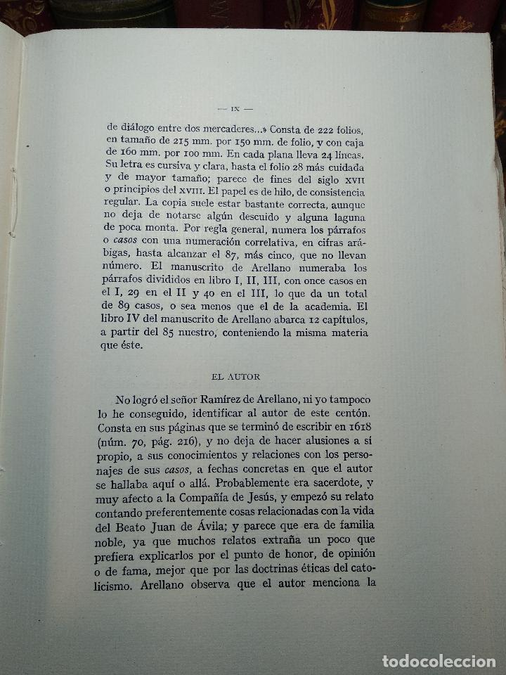 Libros de segunda mano: CASOS NOTABLES DE LA CIUDAD DE CÓRDOBA ( ¿1618? )SOCIEDAD DE BIBLIÓFILOS ESPAÑOLES - MADRID - 1949 - - Foto 3 - 117979827