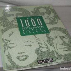 Libros de segunda mano: LOS 1000 PROTAGONISTAS DEL SIGLO XX. Lote 118659075