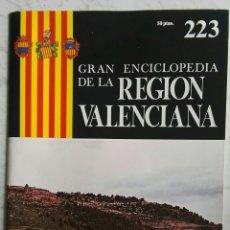 Libros de segunda mano: GRAN ENCICLOPEDIA DE LA COMUNIDAD VALENCIANA FASCÍCULO 223 CORTES DE PALLÁS (VALENCIA). Lote 118688902
