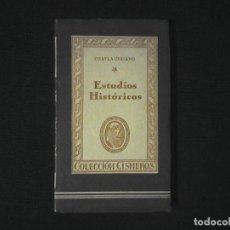 Libros de segunda mano: CHATEAUBRIAND ESTUDIOS HISTORICOS. Lote 120680615