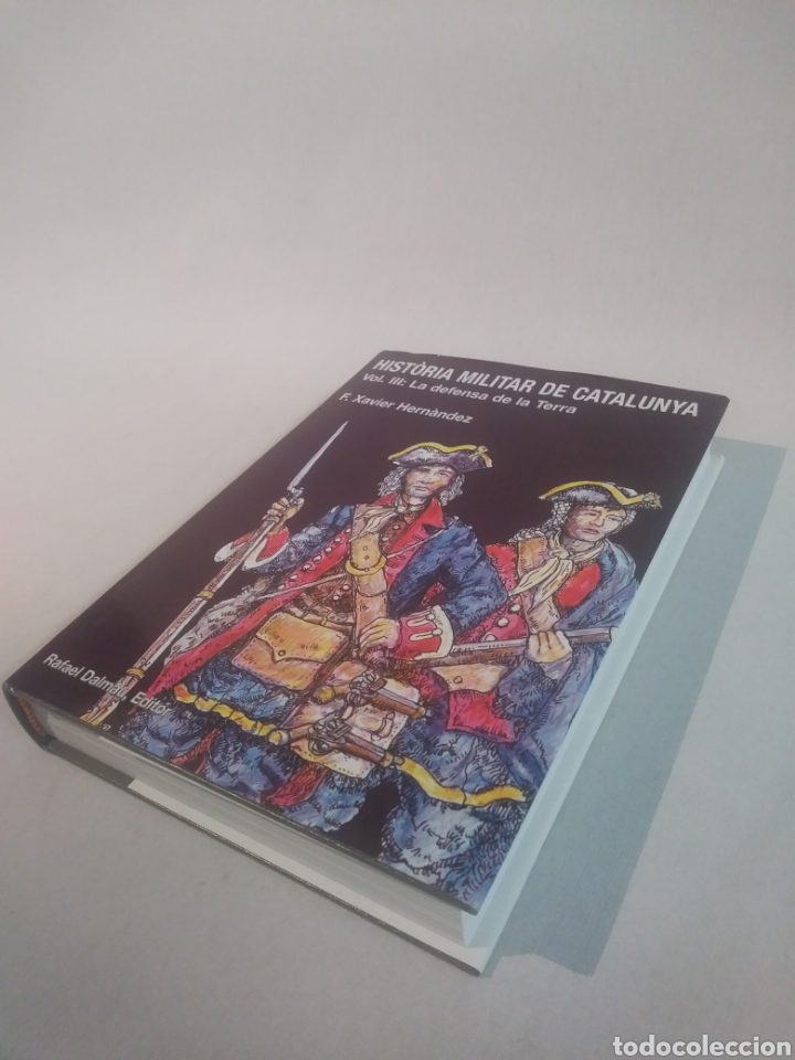Libros de segunda mano: HISTÒRIA MILITAR DE CATALUNYA . Volum III . La defensa de la Terra - Foto 2 - 120891711