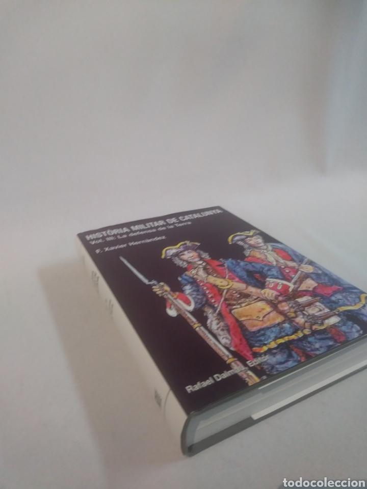 Libros de segunda mano: HISTÒRIA MILITAR DE CATALUNYA . Volum III . La defensa de la Terra - Foto 3 - 120891711