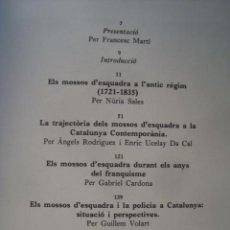 Libros de segunda mano: ELS MOSSOS D'ESQUADRA. [BARCELONA], [L' AVENÇ]. [1981]. CATALUÑA - CATALUNYA - HISTORIA. Lote 121536459