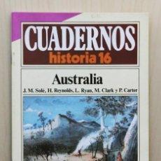 Libros de segunda mano - CUADERNOS HISTORIA 16, num 187. AUSTRALIA - ZARAGOZA, Gonzalo - SOLÉ MARIÑO, Jose Mª - REYNOLDS, Hen - 121616956