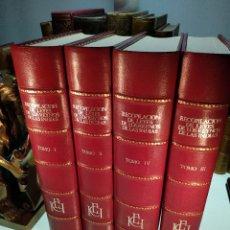 Libros de segunda mano: RECOPILACIÓN DE LEYES DE LOS REYNOS DE LAS INDIAS - 4 TOMOS - ENCUADERNACIÓN LUJO - MADRID - 1973 -. Lote 122661951