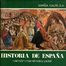 Libros de segunda mano: MENENDEZ PIDAL. HISTORIA DE ESPAÑA. TOMO XXII, VOLUMEN 2. FELIPE II. Lote 122943931