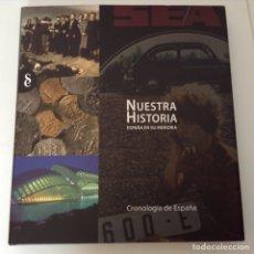 Libros de segunda mano: NUESTRA HISTORIA. Lote 123041030