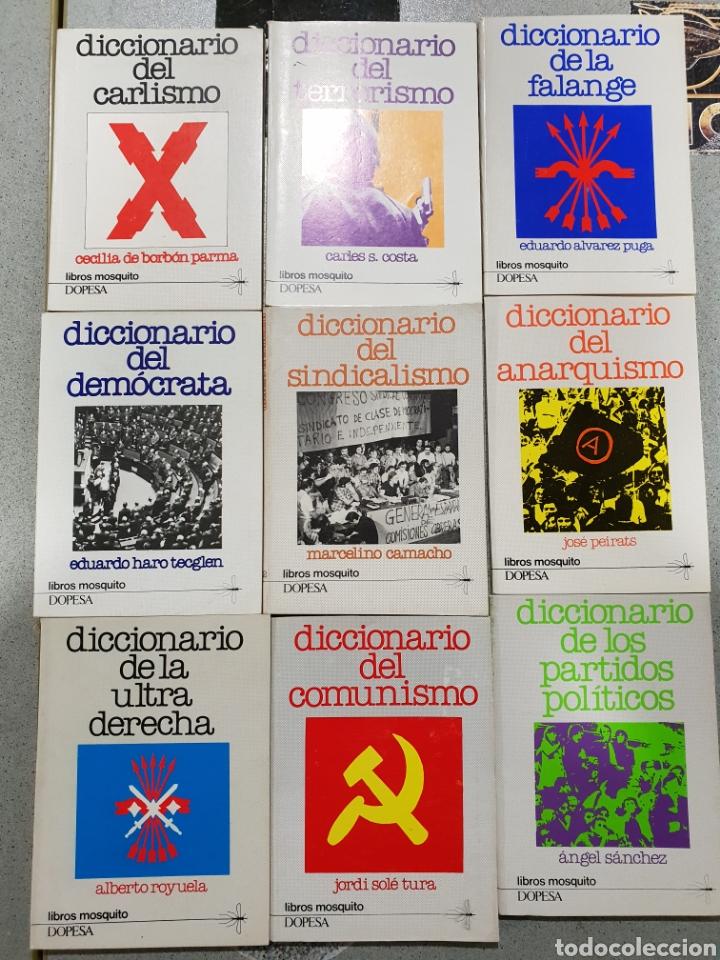 LIBROS MOSQUITO,EDITORIAL DOPESA (Libros de Segunda Mano - Historia Moderna)