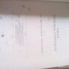 Libros de segunda mano: LA REVOLUCIÓN INDUSTRIAL. VOL XXI..GRAN HISTORIA UNIVERSAL. CLUB INTERNACIONAL DEL LIBRO. Lote 123993771