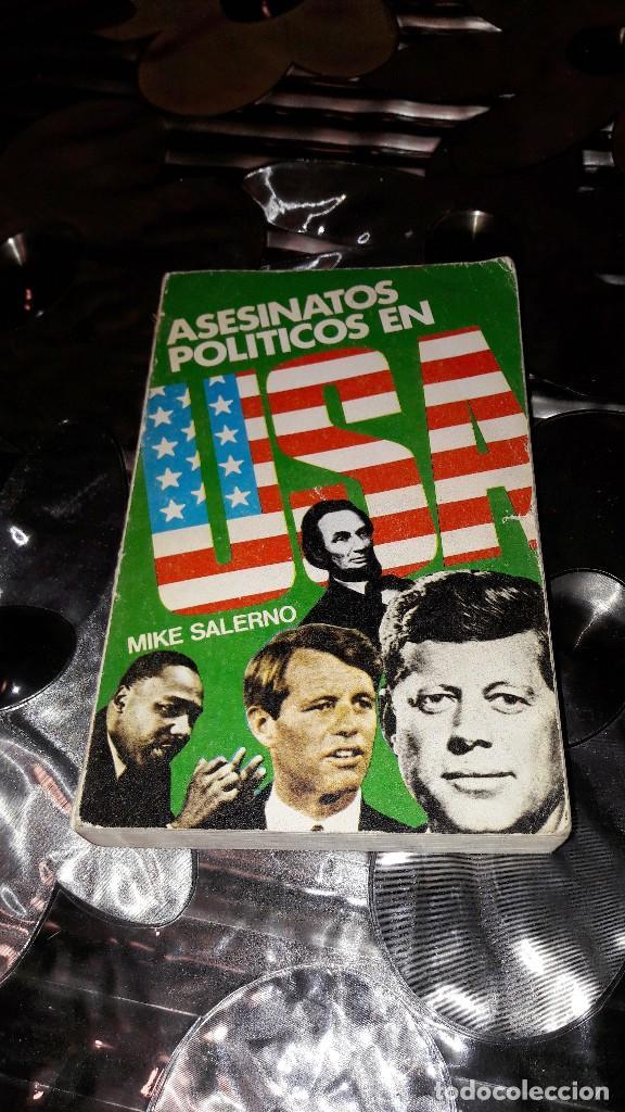 ASESINATOS POLÍTICOS EN USA - MIKE SALERNO (Libros de Segunda Mano - Historia Moderna)