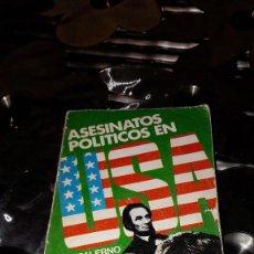 Libros de segunda mano: ASESINATOS POLÍTICOS EN USA - MIKE SALERNO. Lote 125230995