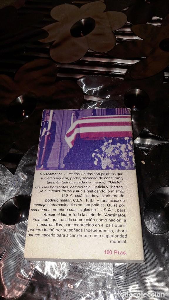 Libros de segunda mano: ASESINATOS POLÍTICOS EN USA - MIKE SALERNO - Foto 2 - 125230995