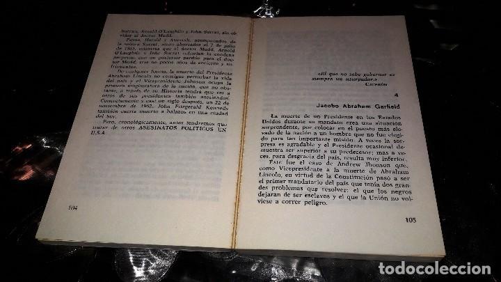 Libros de segunda mano: ASESINATOS POLÍTICOS EN USA - MIKE SALERNO - Foto 3 - 125230995