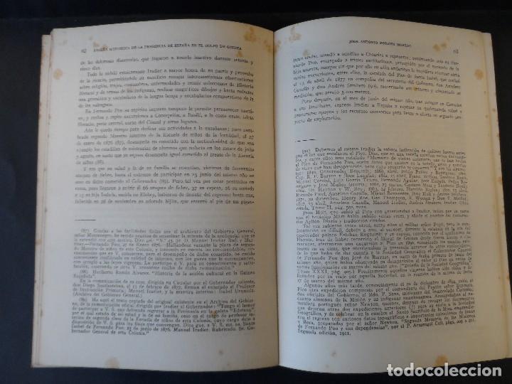 Libros de segunda mano: RESEÑA HISTORICA DE LA PRESENCIA DE ESPAÑA EN EL GOLFO DE GUINEA. A. MORENO . MADRID 1952 - Foto 3 - 125950743