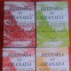 Libros de segunda mano: HISTORIA DE GRANADA - MIGUEL LAFUENTE ALCANTARA – 4 TOMOS – COMPLETA - FACSIMIL. Lote 126178127